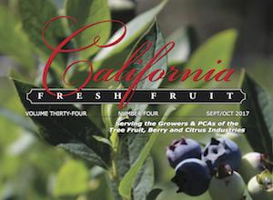California Fresh Fruit Magazine September 2017 Issue