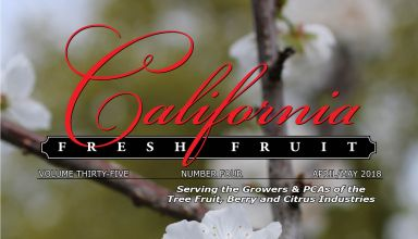 California Fresh Fruit Magazine April 2018 Issue
