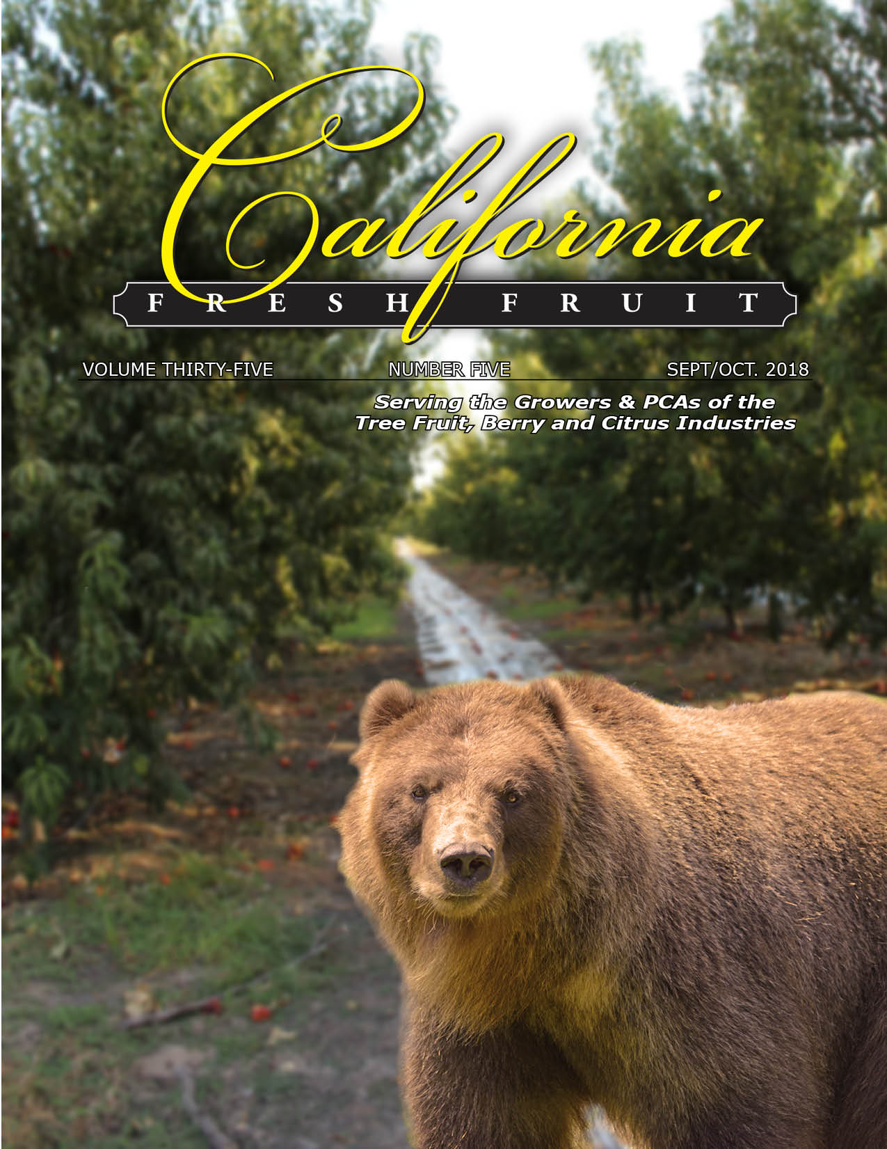 California Fresh Fruit Magazine September 2018 Issue